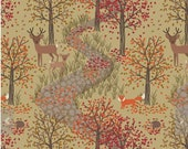 Afternoon, A246-2  from the Autumn in Bluebell collection designed by Lewis & Irene LTD.