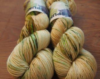 Green Touch ExF Merisilk - hand dyed yarn
