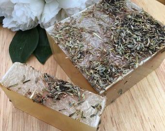 Organic Lavender Essential Oil Soap - Vegan, Vegetarian, Cruelty Free