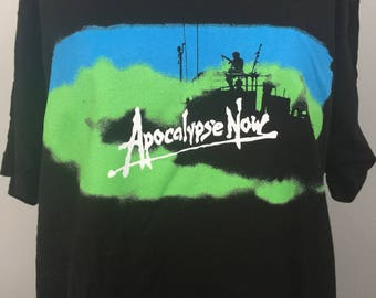 Apocalypse Now movie Tee shirt - Official Francis Ford Coppola Film -Hard To Find - Sizes Small-Xlarge Free Shipping