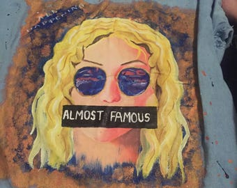 Almost Famous Hand Painted Jacket