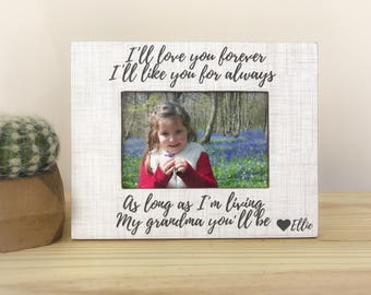 Grandma frame. Mother's Day gift. First Mother's Day frame. Personalized frame. Mother's Day 2017