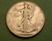 Walking Liberty Half Dollar 1936-S <> # ET3901
