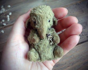 Tiny elephant, miniature