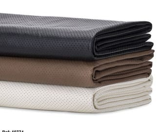 Faux Leather, PU PVC Airtex Fabric, Water Resistant, Stretch Soft Material, Quality Fabric & Material, Sewing and Crafts, Neotrims Textiles