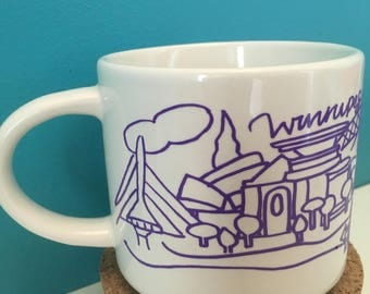 Winnipeg City Landscape Mug!