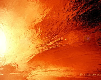 Eternal - Eternal, abstract photograph of a sunset artwork