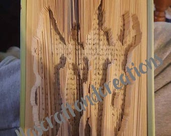 Wizard of oz book folding pattern