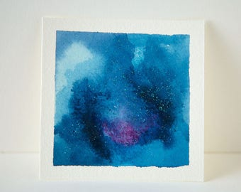 Original Mini Paintings : You Are The Universe