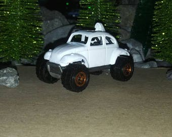 Custom made 1:64 scale die cast car