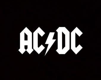 ACDC Sticker