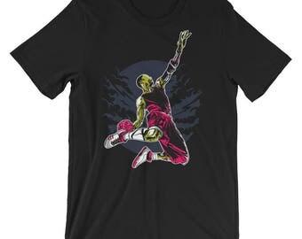 Zombie Slam Short-Sleeve Unisex T-Shirt