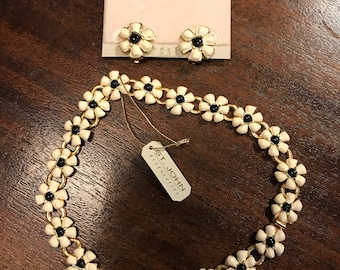 St. John necklace and earring set