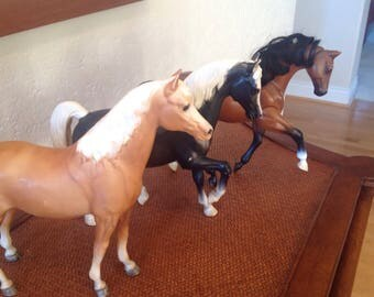 Three Horses, Two Breyer and One Grand Champion
