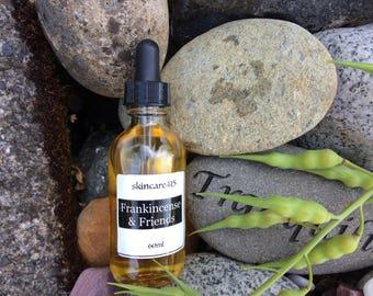 Frankincense & Friends Body Oil - Luxurious, Indulgent Body Oil: quick absorbing; frankincense, sandalwood, myrrh