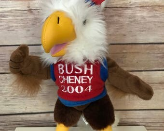 Bush Cheney 2004 America Plush Eagle