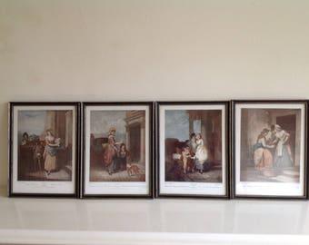 Set of 4 prints 'Cries of London'