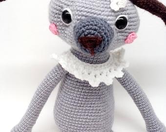 Crochet dog - amigurumi dog - doll dog - gift dog