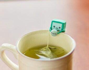 BMO and Bubble {Tea Bag Holder}