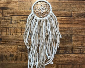 Mini Cream Dream Catcher