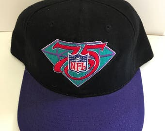 Vintage Sports Specialties NFL 75th Anniversary Hat (1994)