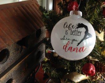 Dance Ballerina Christmas Ornament Gift 2018