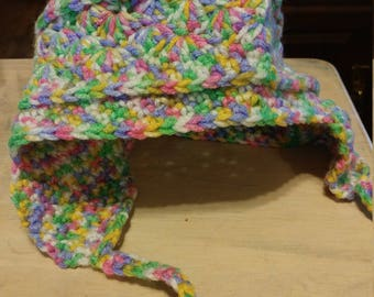 Child's hat with ear flaps