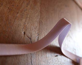 elastic white 11mm flat for lingerie