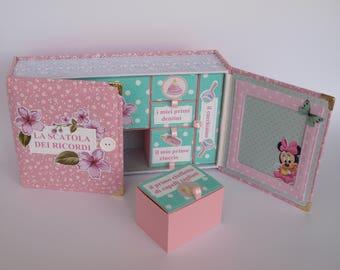 La Scatola dei Recordi , Baby memory box, Baby Shower Gift, Baby Keepsake Box, Baby Boy Keepsake, New Baby Box, Personalised Memory Box