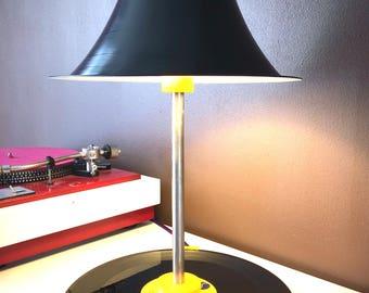 lamp 3D and vinyl