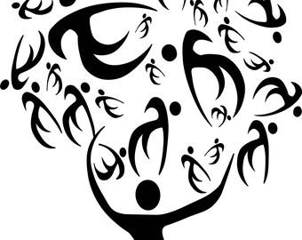 People Reunion Tree