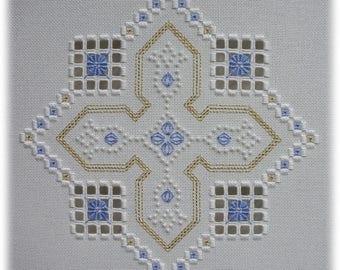 Hardanger embroidery - Berrington Hall (I)