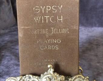 Gypsy Witch Fortune telling playing cards Cincinnati