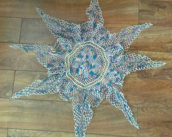 Large Star Doily