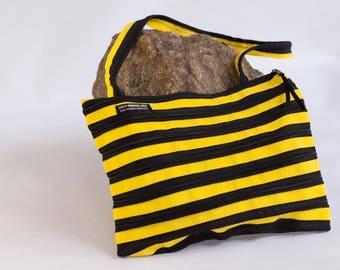 handbag made of zipper, various colors