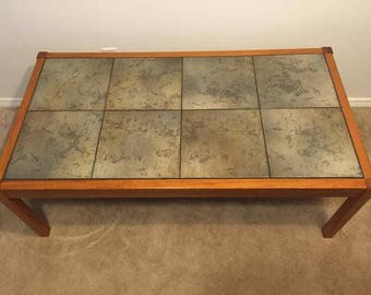 SUPER SATURDAY SALE Mid Century Modern Vintage Danish Modern Teak Coffee  Table