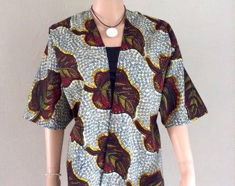 38/40/42/44/46 certified WAX cotton kimono