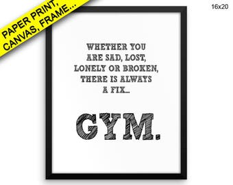 Gym Prints Gym Canvas Wall Art Gym Framed Print Gym Wall Art Canvas Gym Gym Art Gym Gym Print Gym Printed Poster Gym Prints Gym Canvas cure