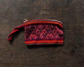 Red Shipibo Small Bag