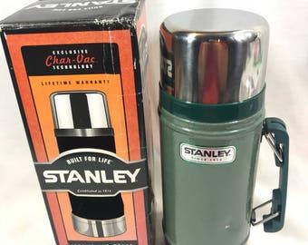 Stanley Classic Vacuum Food Jar 24oz Stainless Steel Thermos
