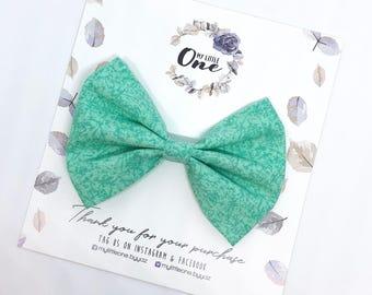 Fabric Bow Newborn Headband Toddler Headbands Nylon Headbands Floral Bows