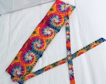 Trippy hippy aromatherapy heat pack with straps