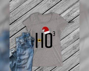Ho Ho Ho / Ho 3 / Ho Cubed Cricut, Silhouette, Brother Cut File / Digital Download *SVG DXF PNG*