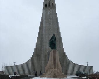 Wooden Art - Hallgrímskirkja - Reykjavik, Iceland