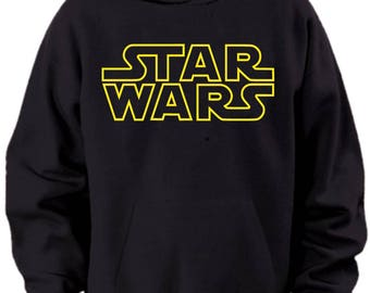 Star Wars Logo Hoodie Mens Sizes S M L Xl Xxl Xxxl 4xl 5xl