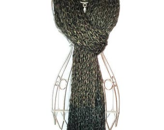 Knitted Scarf Winter Scarf Wool Scarf Knitted Shawl Long Shawl Loop Scarf Scarf for Women Scarf for Men Womens Shawl Mens Shawl
