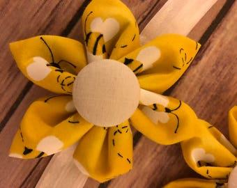 Bumble bee headband