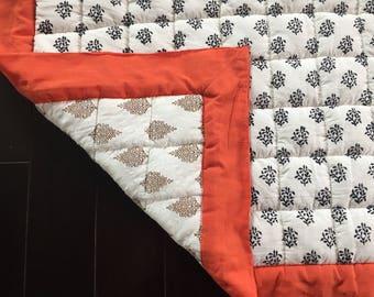 Handloom Cotton Play Mat/ Tummy Time Mat