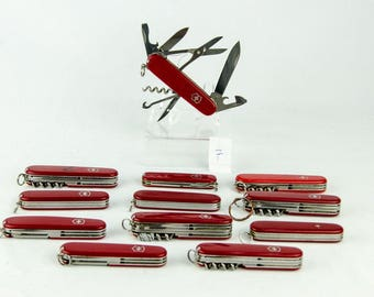 Victorinox Swiss Army Knives - Lot of 12