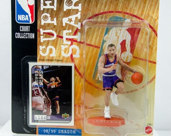 NBA Super Stars Court Collection 98/99 Jason Kidd Action Figure Phoenix Suns